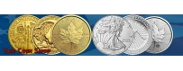 Silver And Gold Bullion