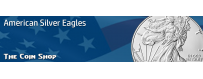 American Silver Eagles (ASE) (1986-Date) | The Coin Shop