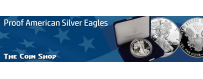 Proof American Silver Eagles (1986 - Date) | The Coin Shop