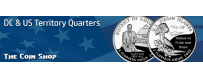 DC & US Territory Quarters  (2009) | The Coin Shop