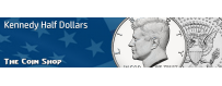 Kennedy Half Dollars | The Coin Shop