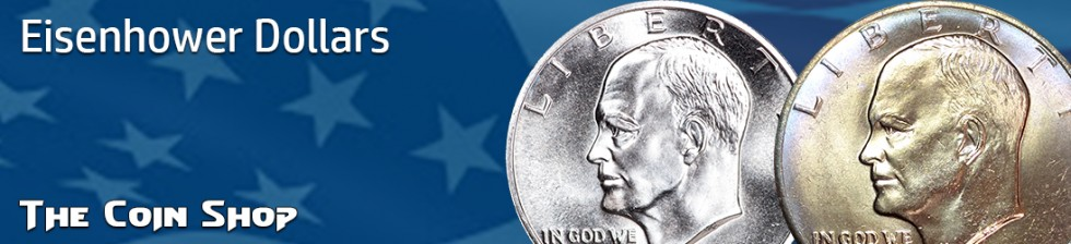 Eisenhower ( Ike ) Dollars (1971-1978) | The Coin Shop