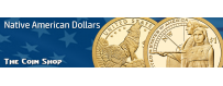 Native American Dollars (2000-Present) | The Coin Shop