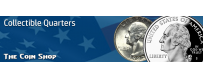 U.S. Quarters  (U.S. Quarter Dollars)   The Coin Shop